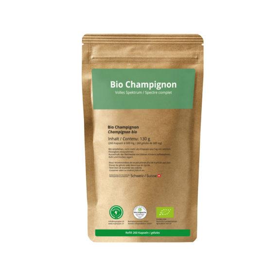 Bio Champignon Nachfüllbeutel